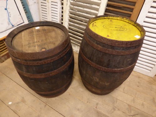 Great French Oak Barrels - In Stock